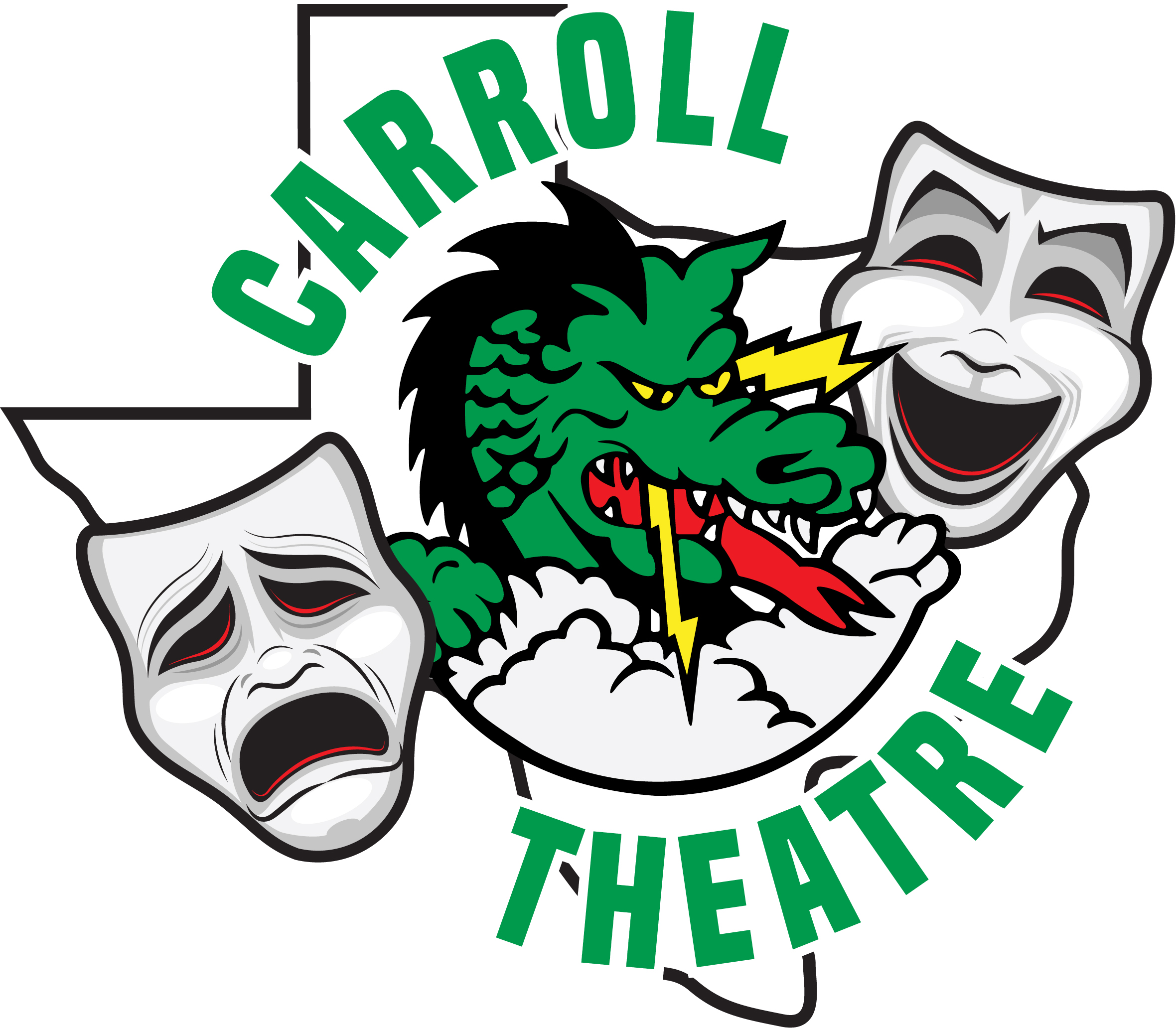 Carroll Theatre Decal -5