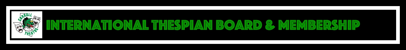 INT THESPIAN B&M Header