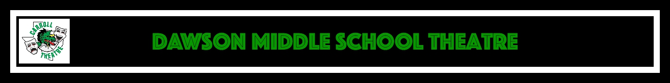 dawson middle school theatre header